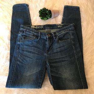 Madewell Sz 24 Skinny Jeans